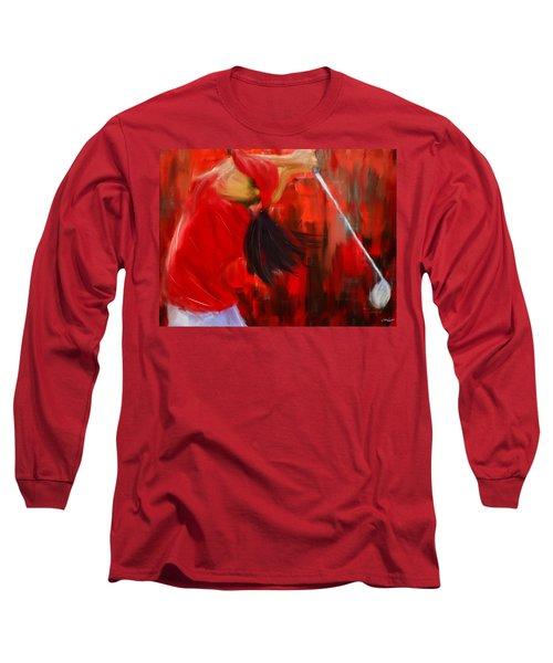 Golf Swing Long Sleeve T-Shirt