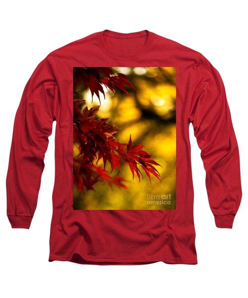 Graceful Leaves Long Sleeve T-Shirt