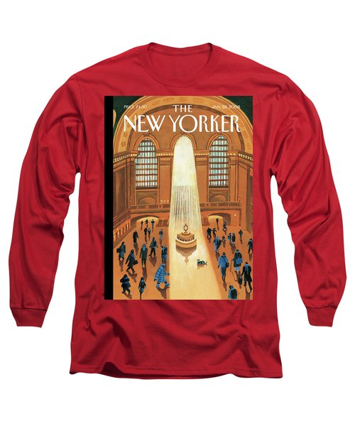 Grand Central Heating Long Sleeve T-Shirt