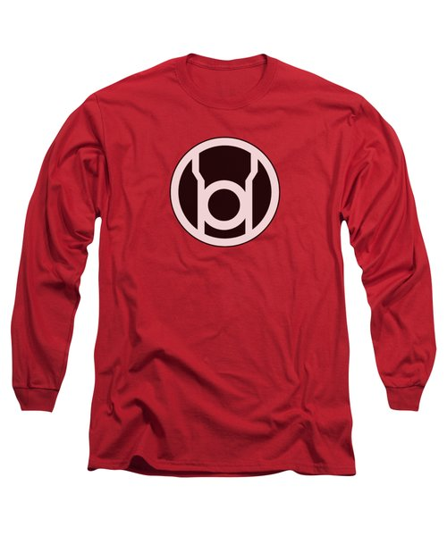 Green Lantern - Red Lantern Logo Long Sleeve T-Shirt