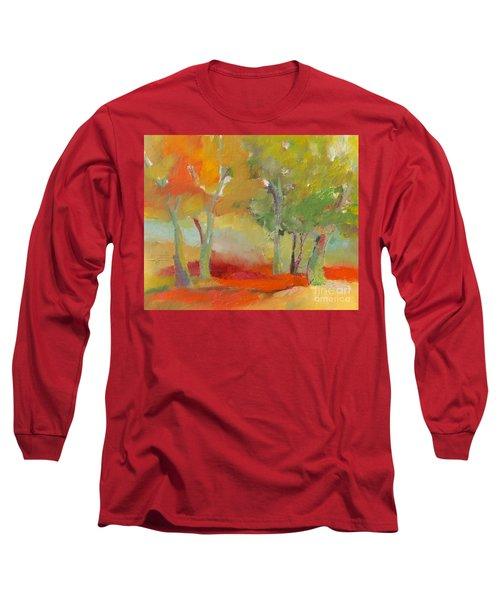 Green Trees Long Sleeve T-Shirt