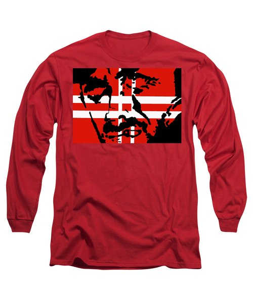 Long Sleeve T-Shirt featuring the painting Hang Them High by Robert Margetts
