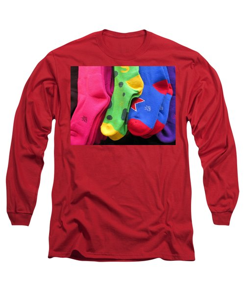 Wear Loud Socks Long Sleeve T-Shirt