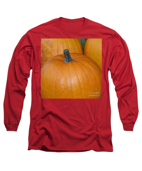 Long Sleeve T-Shirt featuring the photograph Harvest Pumpkins by Chalet Roome-Rigdon