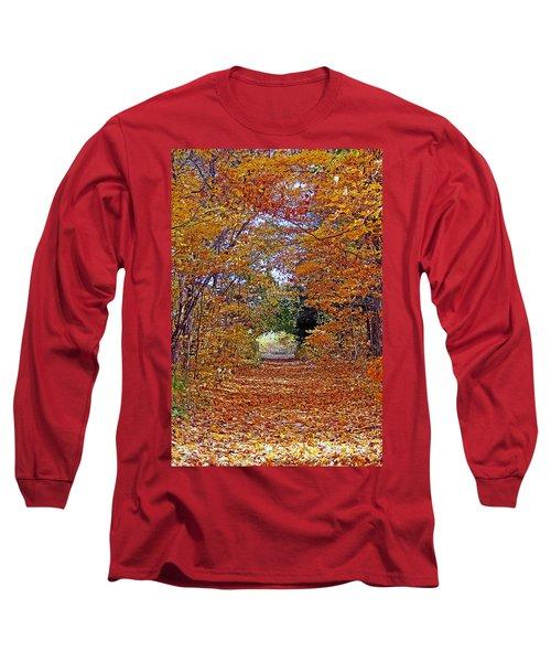 Hawthorn Hollow Long Sleeve T-Shirt by Kay Novy