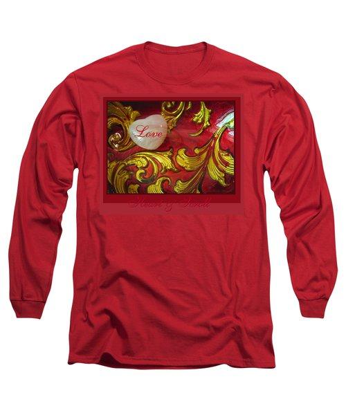 Heart Full Of Love Long Sleeve T-Shirt