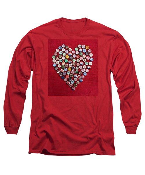 Heart Pop Long Sleeve T-Shirt