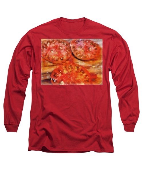 Heirlooms With Salt And Pepper Long Sleeve T-Shirt