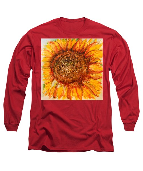 Hello Sunflower Long Sleeve T-Shirt