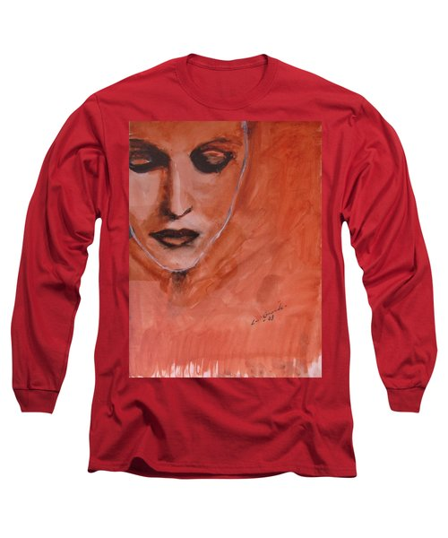 Looking To Her Soul Long Sleeve T-Shirt