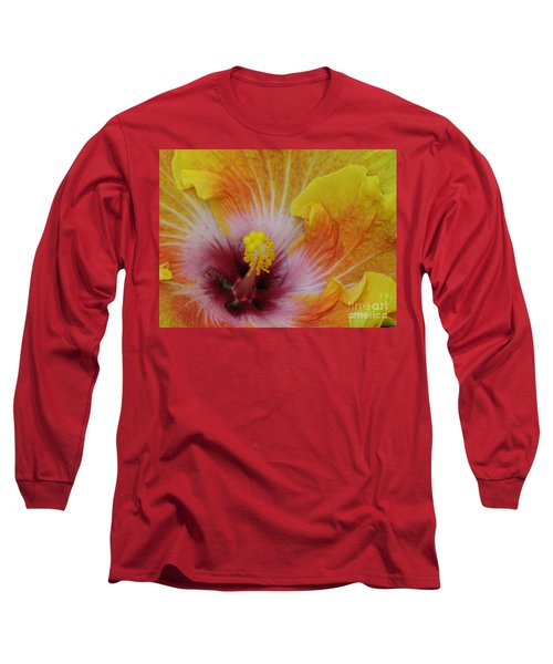 Long Sleeve T-Shirt featuring the photograph Hibiscus by Tam Ryan
