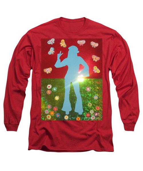 Hippie Girl Long Sleeve T-Shirt