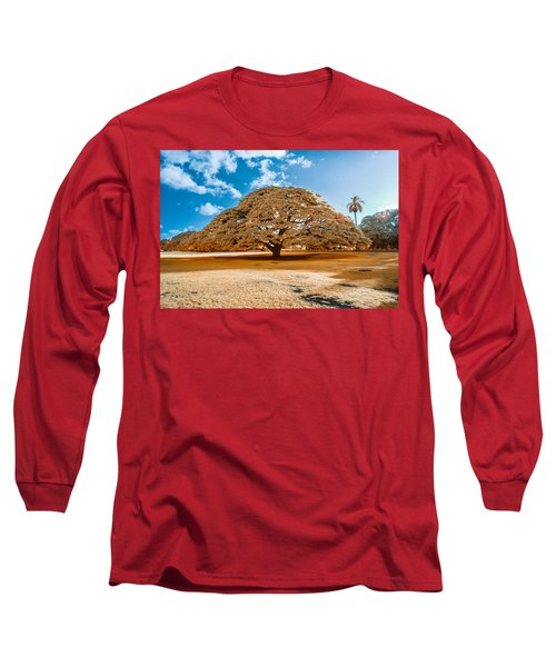 Hitachi Tree In Infrared Long Sleeve T-Shirt