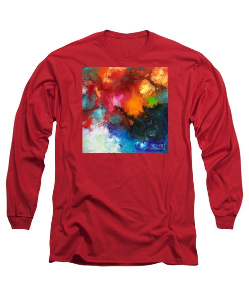 Holding The High Watch Canvas Three Long Sleeve T-Shirt