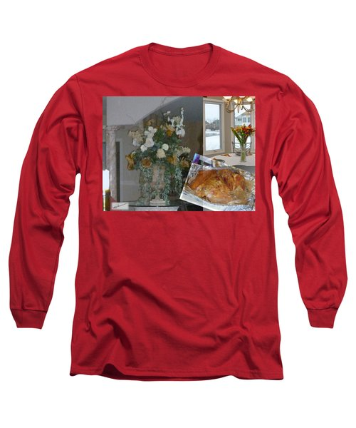 Holiday Collage Long Sleeve T-Shirt