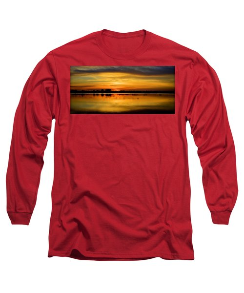 Horizons Long Sleeve T-Shirt by Bonfire Photography