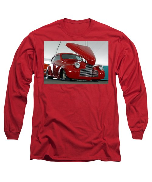 Long Sleeve T-Shirt featuring the photograph Hot In Red by Shoal Hollingsworth