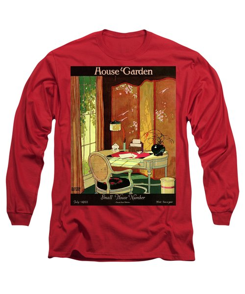 House And Garden Small House Number Long Sleeve T-Shirt