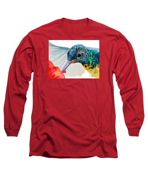 Da120 Hummer Face Daniel Adams  Long Sleeve T-Shirt