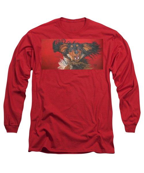 I Am Sooooooo Happy To See You Long Sleeve T-Shirt by Wendy Shoults