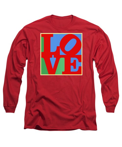 Iconic Love Long Sleeve T-Shirt by Paulette B Wright