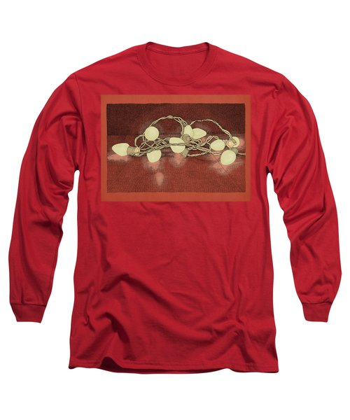 Illumination Variation #2 Long Sleeve T-Shirt by Meg Shearer