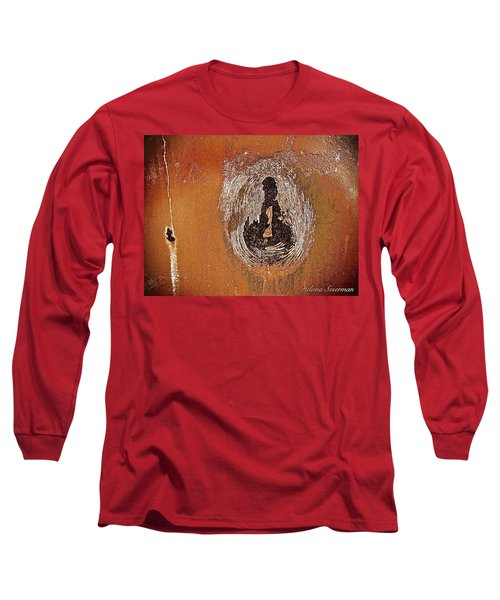 Long Sleeve T-Shirt featuring the photograph Imprintable by Delona Seserman