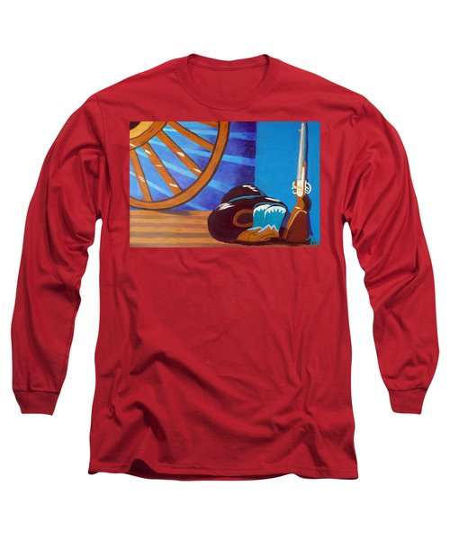 In Memory Of Cowboys Long Sleeve T-Shirt