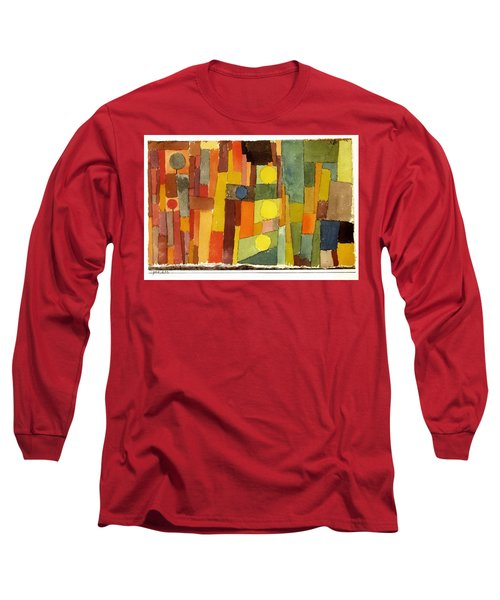 In The Style Of Kairouan Long Sleeve T-Shirt
