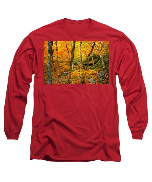 In The Woods Long Sleeve T-Shirt by Bill Howard