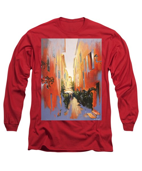 In Town Of Saint Tropez Long Sleeve T-Shirt