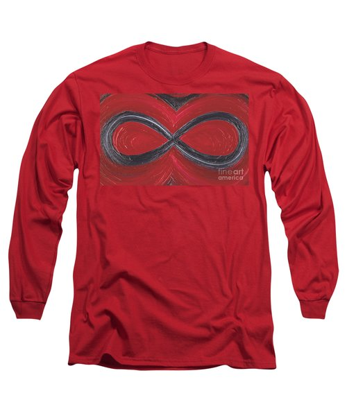 Infinite Love By Jrr Long Sleeve T-Shirt
