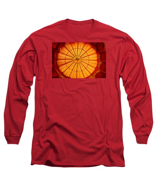 Inside The Red Baloon Long Sleeve T-Shirt by Nadalyn Larsen