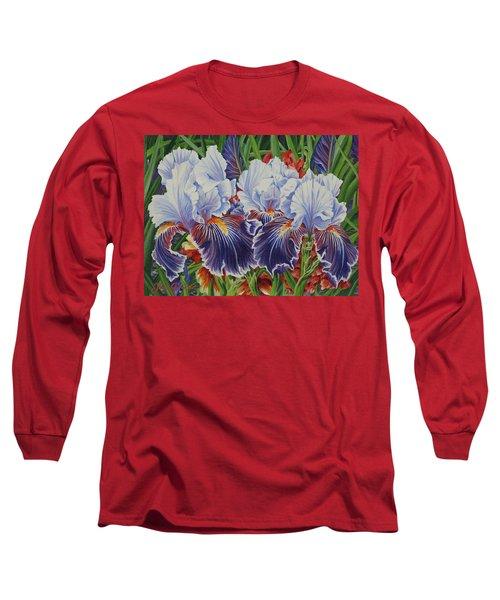Iris Blooms Long Sleeve T-Shirt