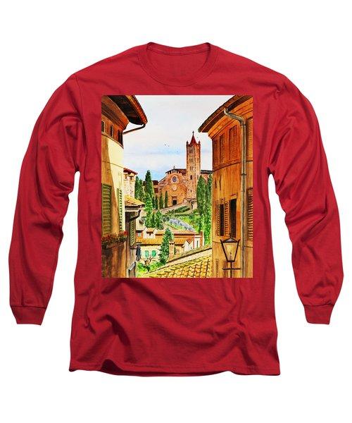 Italy Siena Long Sleeve T-Shirt