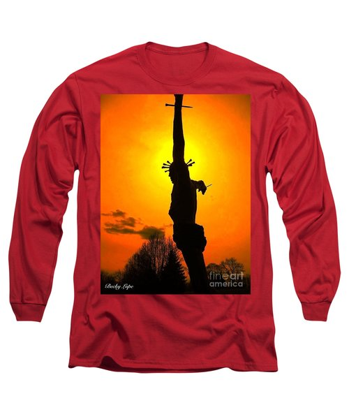 Jesus In Sunset 1 Hope Long Sleeve T-Shirt