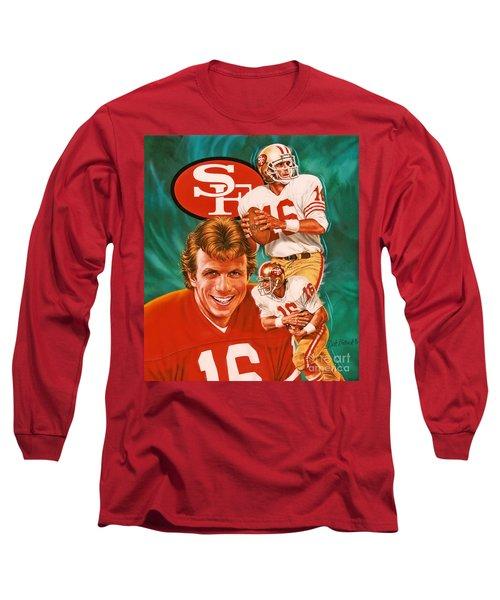 Joe Montana Long Sleeve T-Shirt