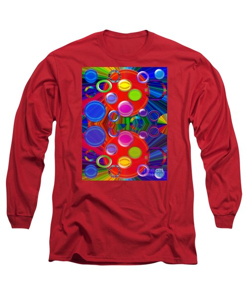 Long Sleeve T-Shirt featuring the photograph Joyous by Tina M Wenger