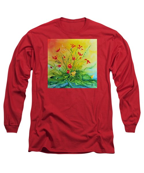 Just For You Long Sleeve T-Shirt by Teresa Wegrzyn
