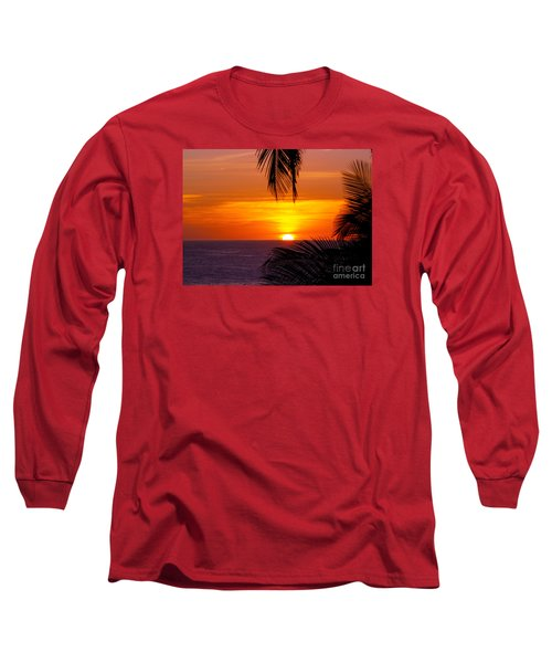 Kauai Sunset Long Sleeve T-Shirt by Patricia Griffin Brett