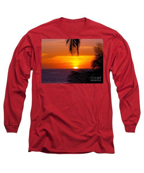 Kauai Sunset Long Sleeve T-Shirt