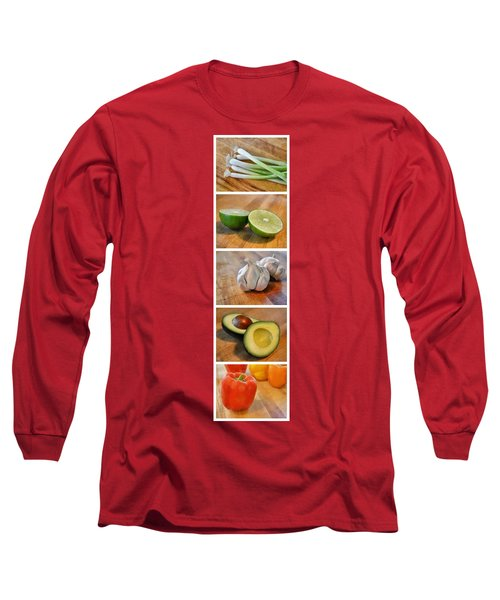 Kitchen Collage Long Sleeve T-Shirt
