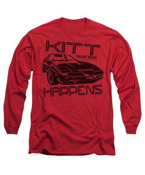 Knight Rider - Kitt Happens Long Sleeve T-Shirt