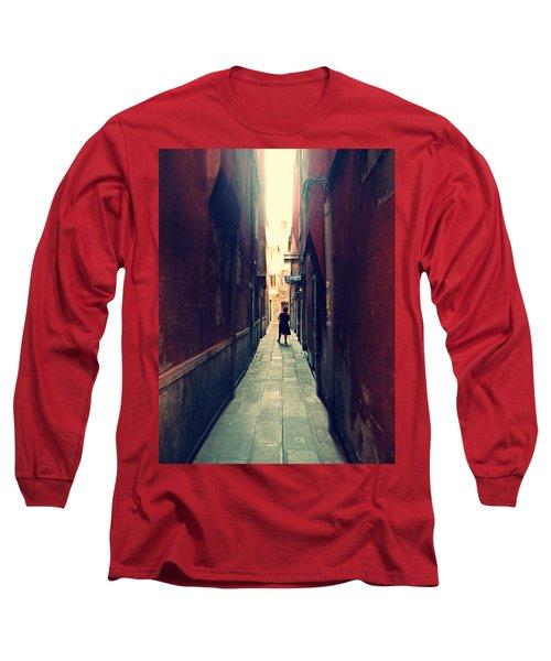La Cameriera  Long Sleeve T-Shirt by Micki Findlay