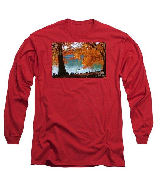 Lake Ella Morning Long Sleeve T-Shirt