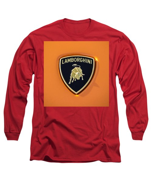 Lamborghini Emblem -0525c55 Long Sleeve T-Shirt