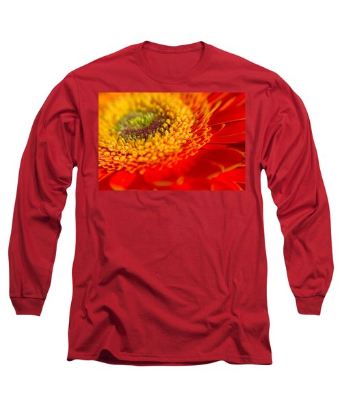 Landscape Of A Flower Long Sleeve T-Shirt