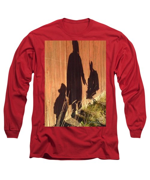 Long Sleeve T-Shirt featuring the photograph Late Summer Walk by Martin Howard