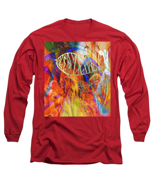 Led Shred Long Sleeve T-Shirt by Kevin Caudill
