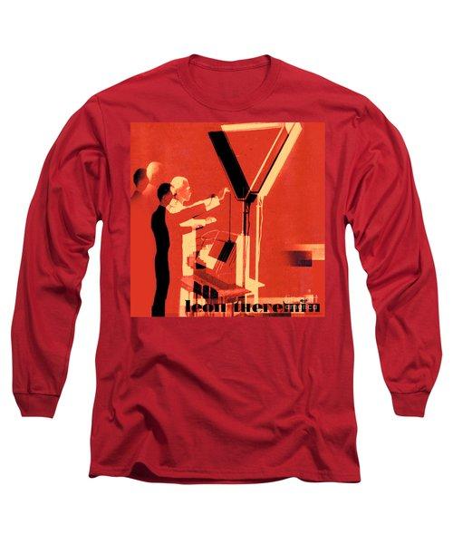 Leon Theremin Long Sleeve T-Shirt